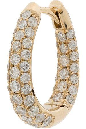 JACQUIE AICHE Aro Inside Out en oro amarillo de 14kt con diamantes