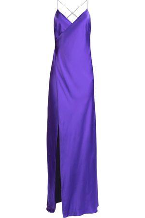 Michelle Mason Vestido largo con abertura
