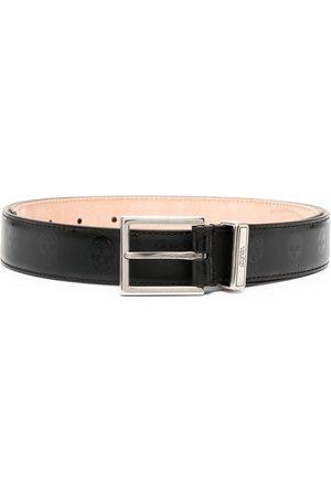 Alexander McQueen Cinturón ajustable con hebilla cuadrada
