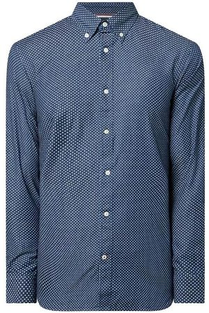 Tommy Hilfiger Camisa manga larga SLIM INDIGO LOOK PRINT SHIRT para hombre