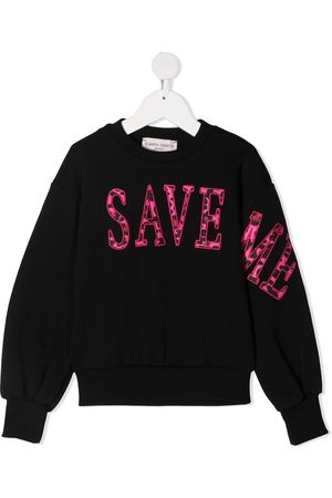 Alberta Ferretti Save Me embroidered sweatshirt