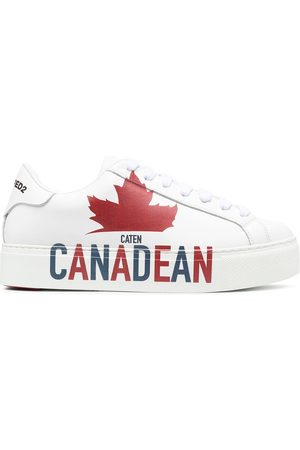 Dsquared2 Zapatillas Canadean con eslogan estampado