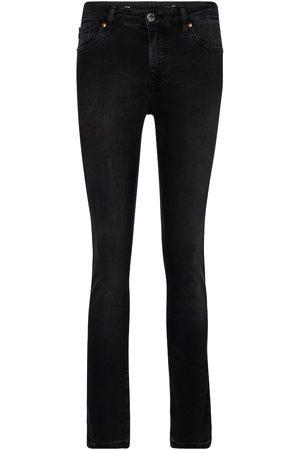 AG Jeans Jeans rectos Mari de tiro alto
