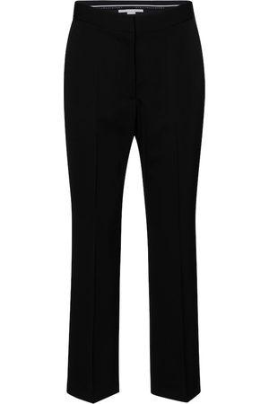 Stella McCartney Pantalones rectos Carlie de lana