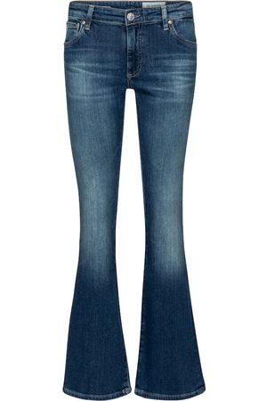 AG Jeans Jeans bootcut de tiro alto