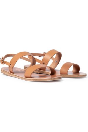 Ancient Greek Sandals Sandalias Clio de piel