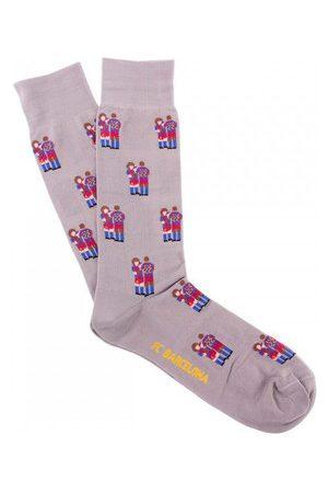 Copa Calcetines FC Barcelona Puyol - Abidal Casual Socks para mujer