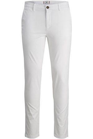 Jack & Jones Pantalón chino 12172763 JJIMARCO JJBOWIE SA WHITE WHITE para hombre