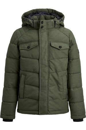 Jack & Jones Parka 12174333 JJREGAN PUFFER JR FOREST NIGHT para niño