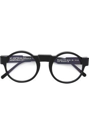 KUBORAUM Gafas de montura redonda