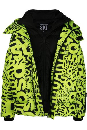 Dsquared2 Logo-print puffer jacket
