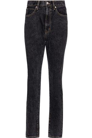 SLVRLAKE Jeans ajustados Beatnik tiro alto