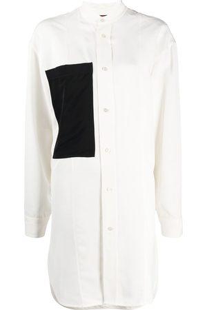 Colville Camisa larga con bolsillo contrastante