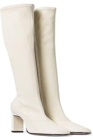 Wandler Exclusivo en Mytheresa – botas altas Lesley de piel en marrón