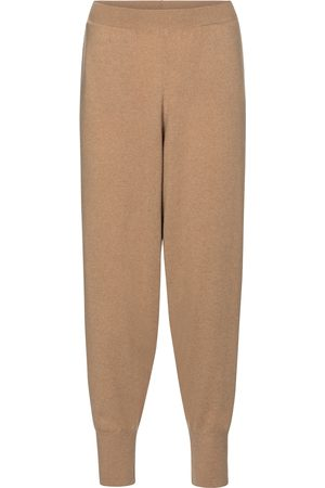 Stella McCartney Pantalones de cachemir y lana