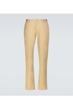 Burberry Pantalones chinos Shibden de algodón