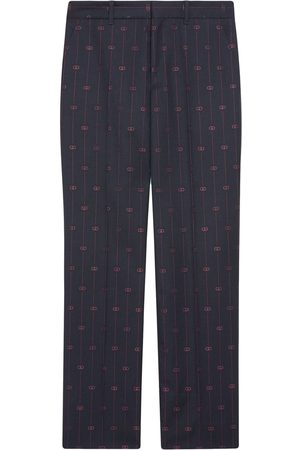 Gucci Pantalones Retro GG anchos