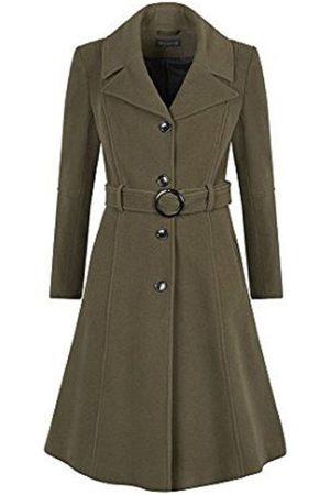 De La Creme Mujer Abrigos largos - Abrigo Abrigo de invierno de cachemira para mujer