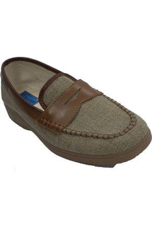 Made In Spain 1940 Pantuflas Zapatilla hombre simulando zapato para hombre