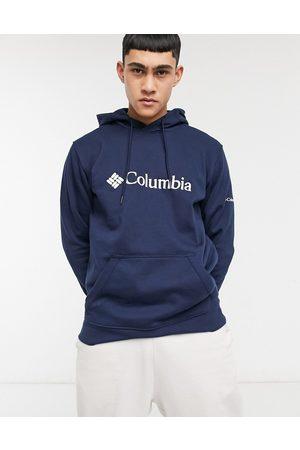Columbia Sudadera básica marino con capucha y logo CSC de