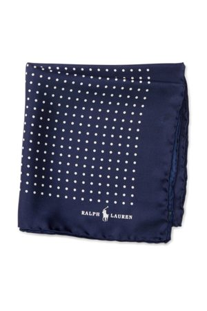 Polo Ralph Lauren Polka-Dot Silk Pocket Square