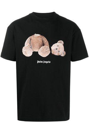 Palm Angels Camiseta con estampado de oso