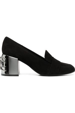 Casadei Zapatos de tacón con motivo de cadenas