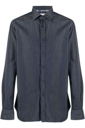 Xacus Camisa vaquera con botones