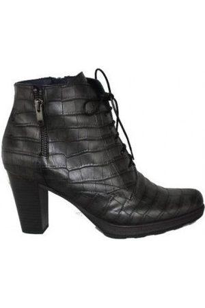 Dorking Boots BOTIN CORDON PIEL GRABADA COCO DE para mujer