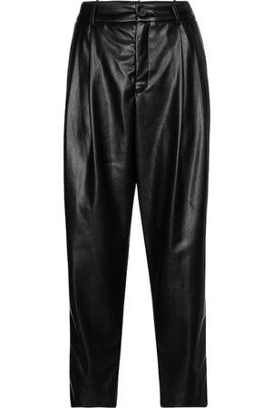 Velvet Pantalones Simone de piel sintética