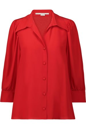 Stella McCartney Camisa Willow de crepé de seda