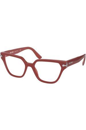 Miu Miu Mujer Gafas de sol - MU 02TV 05F1O1 Dark Pink/CRYSTAL
