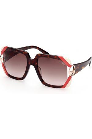 Emilio Pucci Mujer Gafas de sol - EP0159 56F Havana/Other