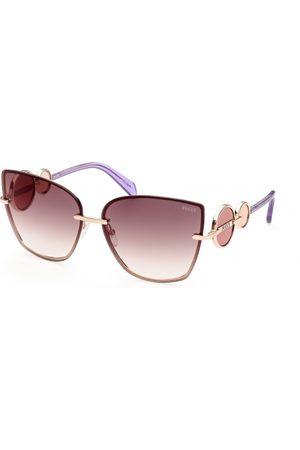 Emilio Pucci Mujer Gafas de sol - EP0155 28G Shiny Rose Gold