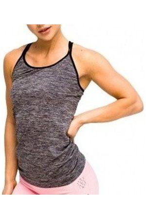 Gymhero Camiseta tirantes L.A Classic Basic Tee para mujer