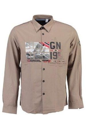 Geographical Norway Camisa manga larga Camisa Zalopark hombre para hombre