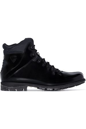 Rossignol High-shine leather lace-up boots