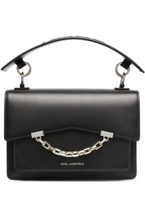 Karl Lagerfeld Bolso shopper con ribete de cadena