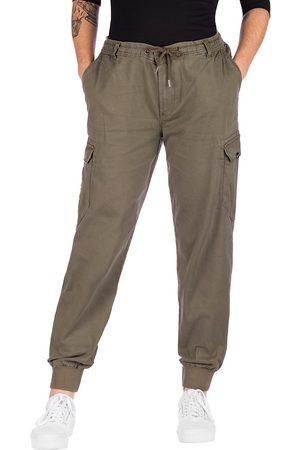 Reell Reflex Rib Cargo Pants verde