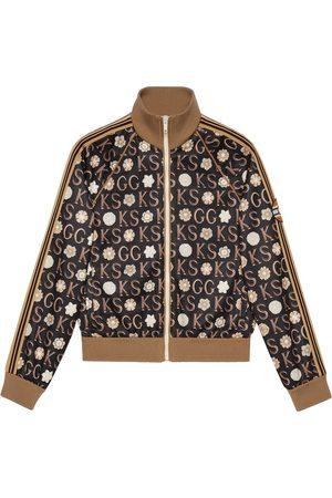 Gucci Chaqueta con cremallera de x Ken Scott