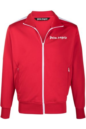 Palm Angels CLASSIC TRACK JACKET RED WHITE