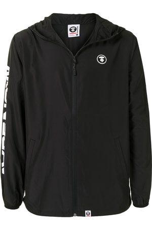 AAPE BY *A BATHING APE® Hombre De entretiempo - Logo-print hooded lightweight jacket