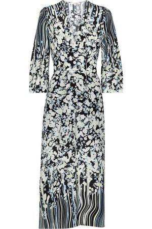 Dorothee Schumacher Vestido midi Blooming Love de seda