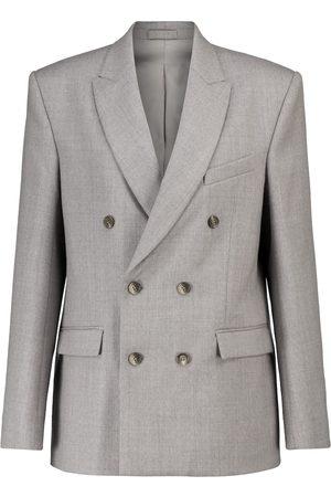 WARDROBE.NYC Release 04 blazer de franela de lana