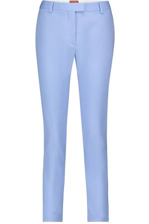 Altuzarra Pantalones Henri de lana tiro medio