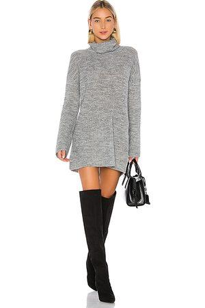 L'Academie Vestido jersey sable en color talla L en - Gray. Talla L (también en S, XS).