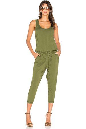 Bobi Mono sin mangas estilo jersey de primera calidad en color verde talla L en - Green. Talla L (también en M, S).