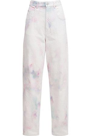 "Isabel Marant Mujer Baggy & boyfriend -   Mujer Jeans Baggy ""corfy"" De Denim Decolorado /multi 34"