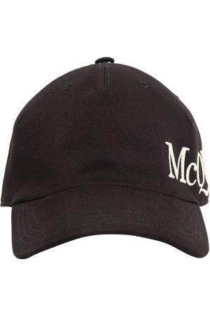 Alexander McQueen | Hombre Gorra De Algodón Con Logo Bordado S