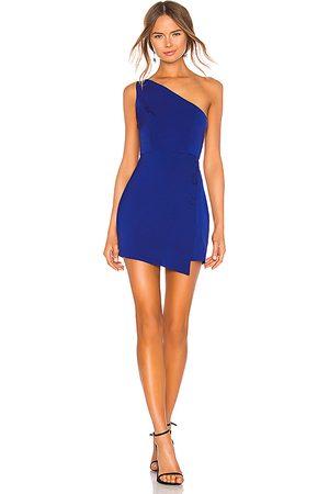 NBD Minivestido un hombro tere en color azul talla L en - Blue. Talla L (también en M, S, XS, XXS).